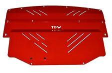 RED Aluminum Engine Splash Shield Guard Under Tray for Nissan 350Z Infiniti G35