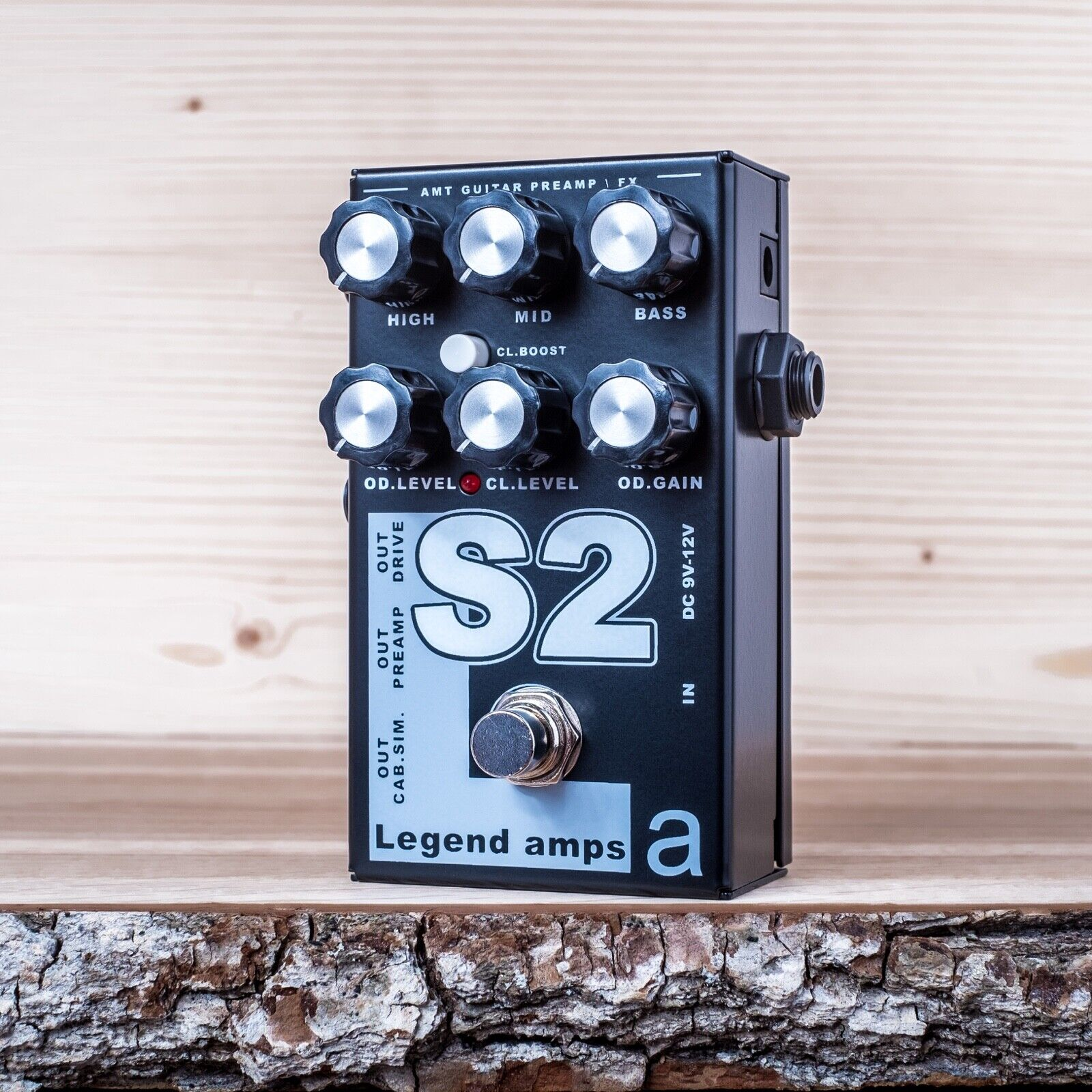 AMT Electronics S2 (Soldano) – guitar preamp (distortion overdrive) effect pedal
