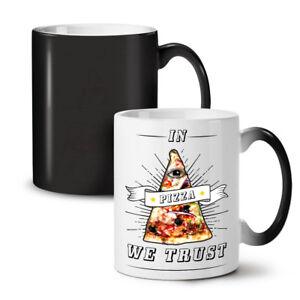 Pizza Trust NEW Colour Changing Tea Coffee Mug 11 oz | Wellcoda