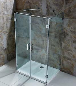 Duschkabine Dusche Bad Duschabtrennung Duschwand 8 Mm Esg Kabine