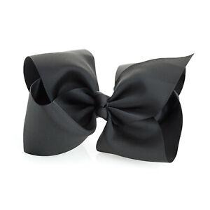 20 Cm Noir Extra Large Hair Bow Clips Filles Ruban Arcs Kids Neuf-afficher Le Titre D'origine