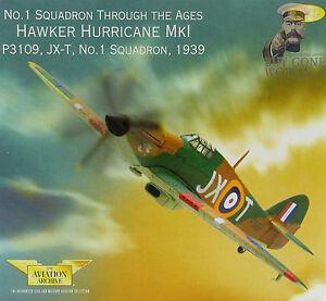 Corgi-AA32012-Hawker-Hurricane-Mk-I-N-1-Sqn-P3109-JX-T-RAF-Wittering-VRare-0029
