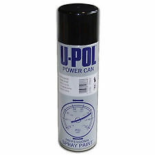 u pol gloss black paints power can 500ml spray aerosol top coat best