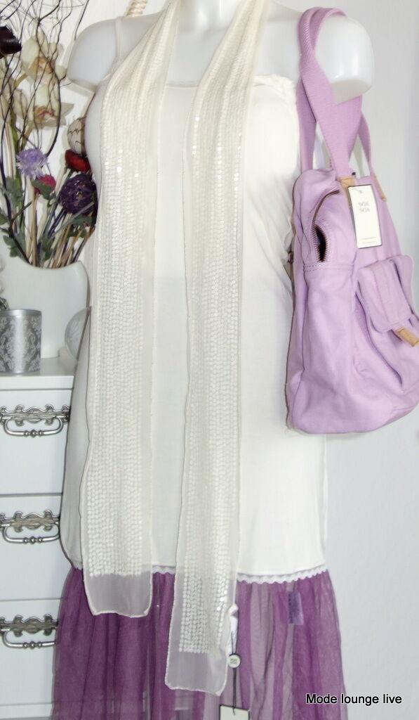 Noa Noa Tunic Basic Lace S 36 Chalk Salt Beige Cream Lace Petticoat