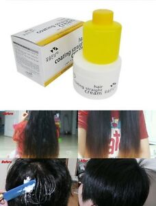 Image Is Loading Hair Coating Straight Cream Curly Straightening Kit