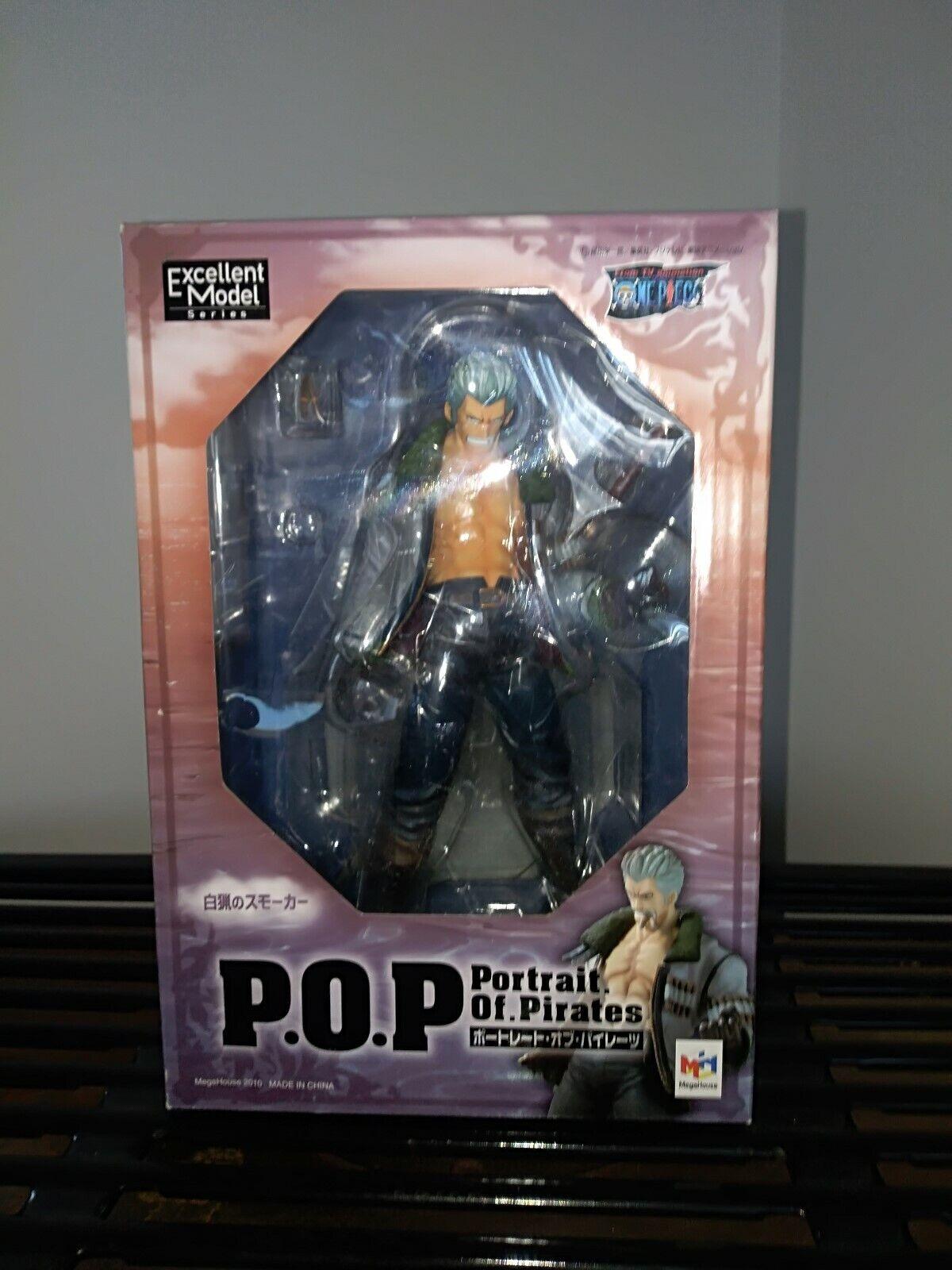 Megahouse One Piece POP Smoker 1 8 PVC Figure