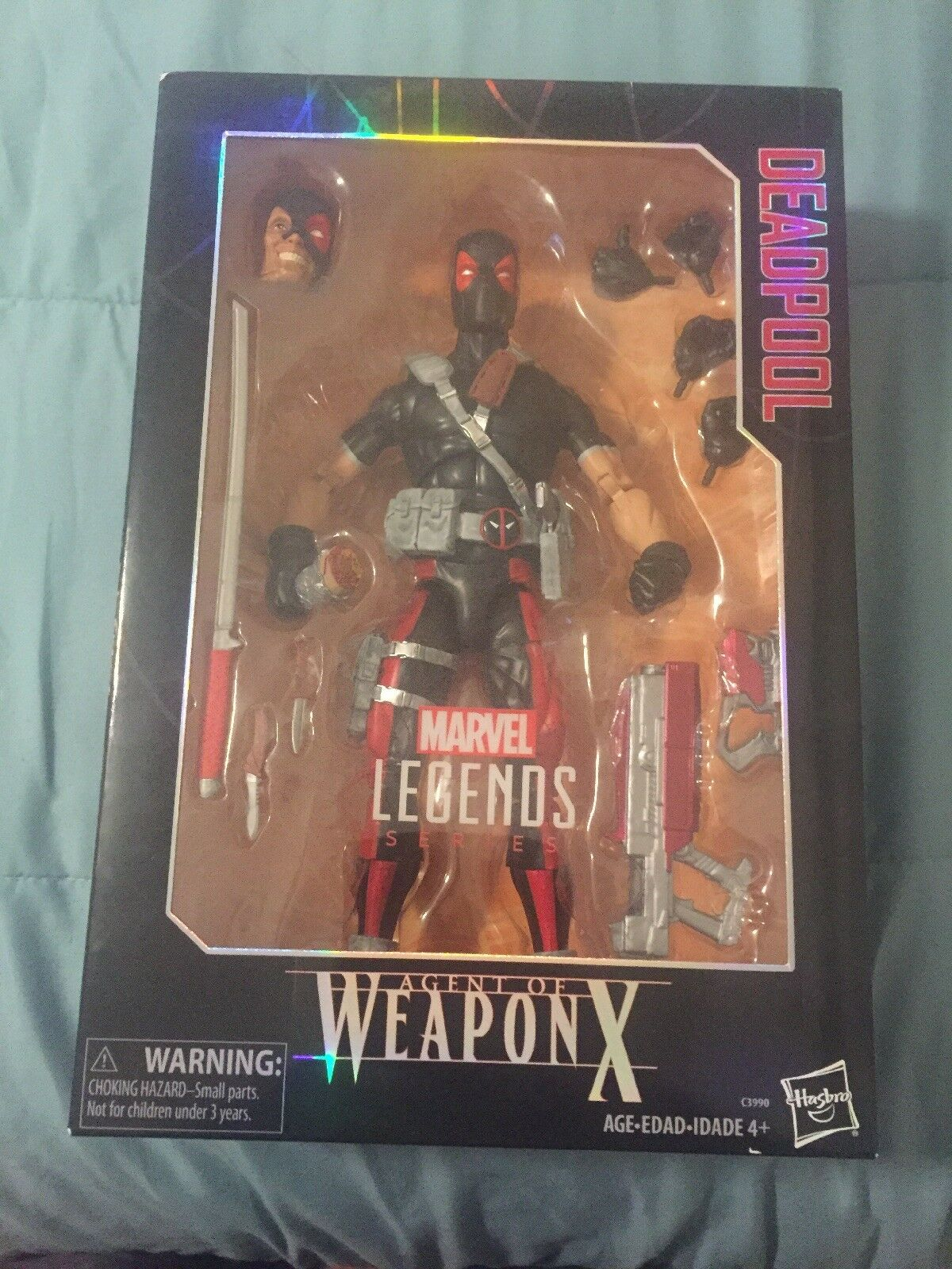 Marvel Legends Series Agent of Weapon X Deadpool 12  Deluxe Action Figure Sealed