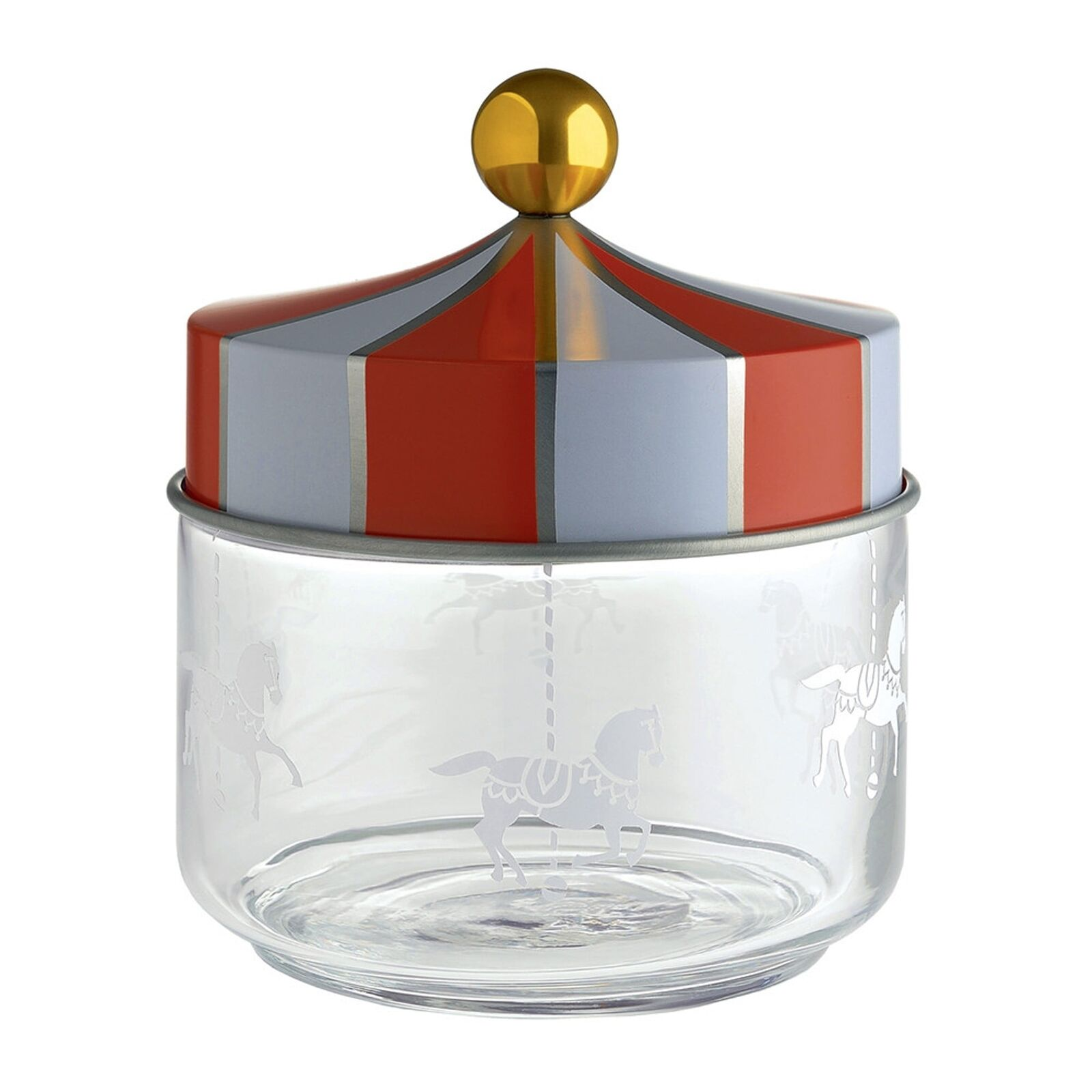 Alessi Circus - Glass Jar with Hermetic Lid - Choice of 4 sizes