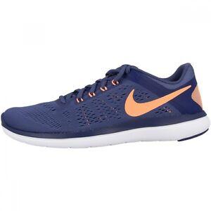 Nike Sneaker Respirant Blue 35 Femmes Orange Flex Taille 36 rr6A0nqxdw