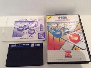 Sega Master System Marble Madness