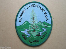 Duddon Landscape Walk West Lancs LDWA Walking Hiking Woven Cloth Patch Badge