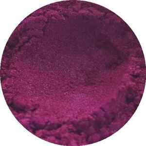 Burlesque Pink Cosmetic Mica Powder 3g-50g Pure Soap Bath Bomb Colour Pigment