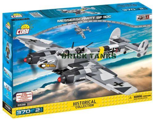 COBI 5538-370 brick heavy fighter-bomb Messerschmitt BF 110C