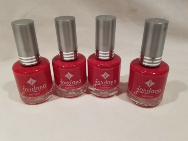 JORDANA Nail Polish DBP Toluene and Formaldehyde Hot Red 030 | eBay