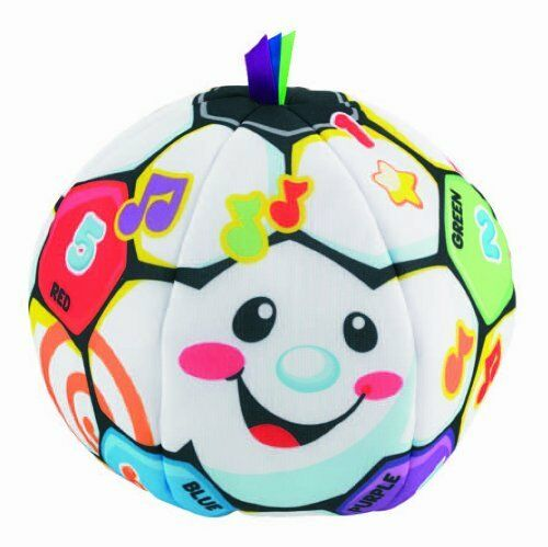 NEW Fisher Price Laugh and Learn Singin Soccer Ball FREE SHIPPING