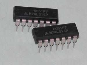 2pk-74LS14-Dip-Pkg-ICs