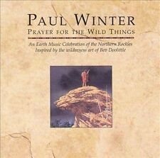 Prayer for the Wild Things by Paul Winter (Sax) (CD, Nov-1994, Living Music) New