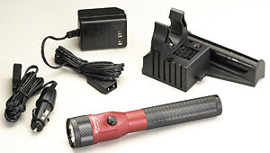 Streamlight Red LED Piggyback Stinger AC/DC Kit