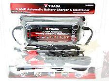 HONDA CBR600 CB750 YUASA 3 Amp Battery Charger Tender Maintainer YUA1203000