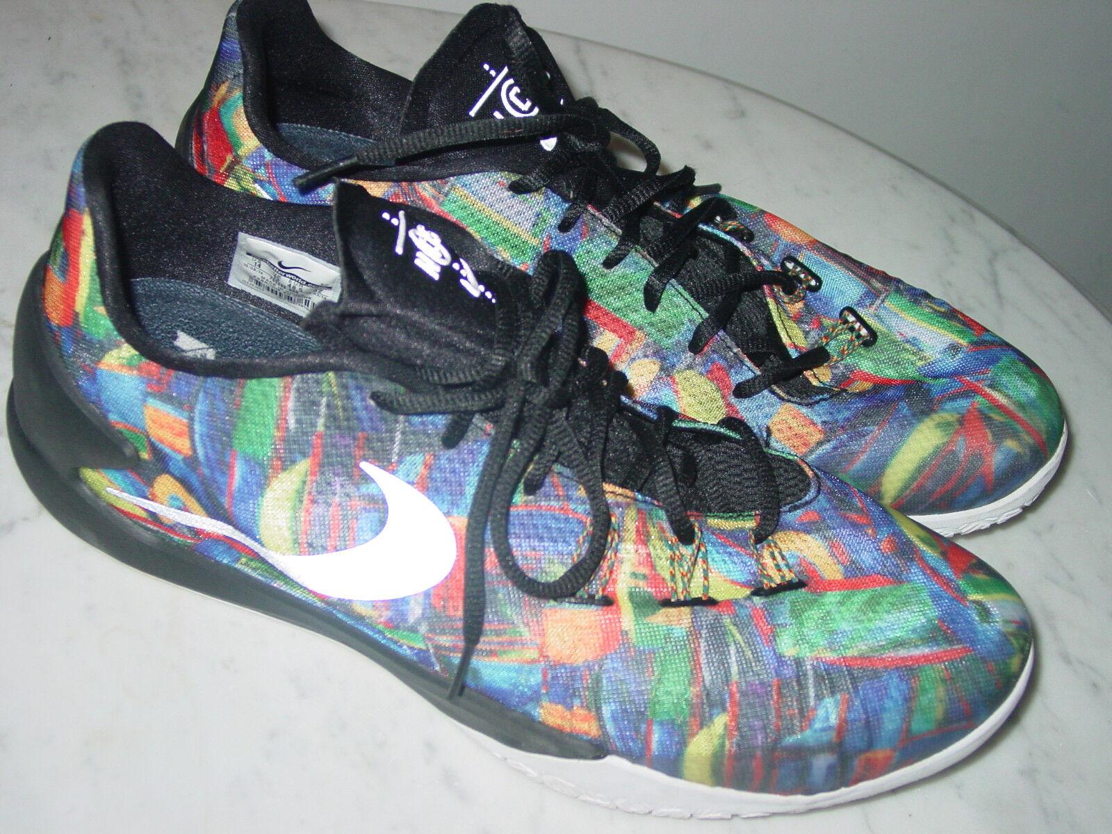 2014 Uomo nike hyperchase sonodiventate qs ncs multi - colore / neri, scarpe da basket!dimensioni 14