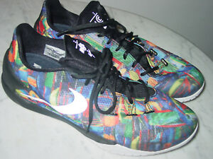 b25e88899a7c 2014 Mens Nike Hyperchase PRM QS NCS Multi-Color Black Basketball ...