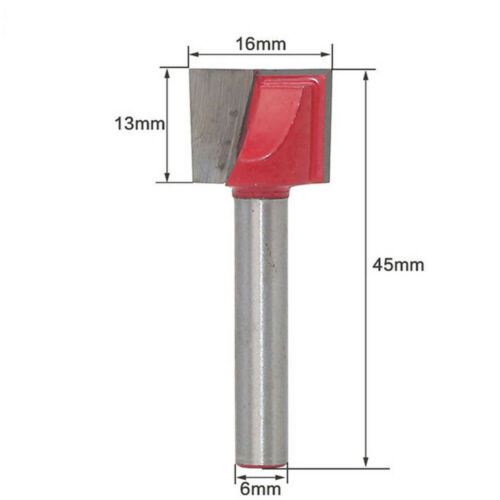 1 pcs Surface Planing Bottom Cleaning Wood Milling CNC Router Bit 10mm to 32mm
