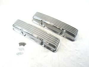 Small Block 327 350 Chevy SBC Tall Finned Valve Cover W//O Hole BPE-2007