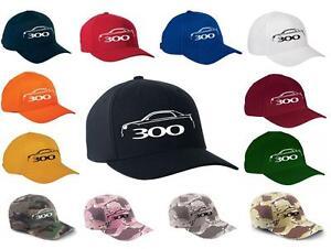 2012-17 Chrysler 300 Classic Color Outline Design Hat Cap NEW