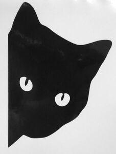 Cat Silhouette For Pet Door