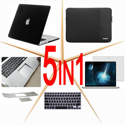 Fit for Macbook Pro Air MCwhite 11.6 12 13 15.4 Screen protector Keyboard cover