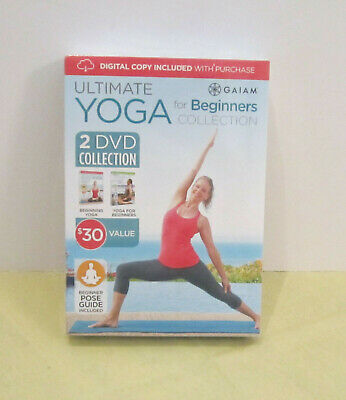 gaiam ultimate yoga for beginners collection 2 dvd set