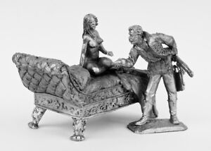 Tin-soldier-figure-Composition-034-Girl-with-an-Officer-034-54-mm