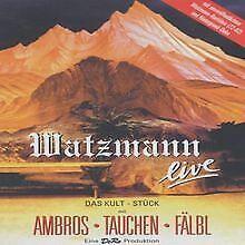 Wolfgang-Ambros-Watzmann-live-DVD-Zustand-gut