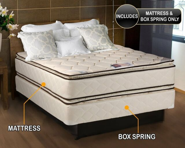 Hollywood Coil Comfort Double Sided, Queen Bed Mattress Set