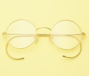 455f97e51df Exquisit 46mm Round gold wire rim Eyeglass frames Eyewear Vintage ...