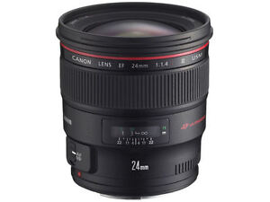 Canon EF 24mm F1.4L II USM Wide Angle Lens Japan Domestic Version ... e9458f543c8