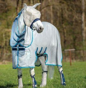 Fliegendecke-Amigo-Bug-Buster-Vamoose-Horseware-Halsteil-UV-Schutz-reissfest