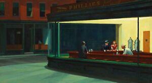 Nighthawks-Painting-by-Edward-Hopper-Art-Reproduction