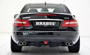 BRABUS Heckschürze für Mercedes Benz E-Coupe ( C 207 ) - Nur Versand, Deutschland - BRABUS Heckschürze für Mercedes Benz E-Coupe ( C 207 ) - Nur Versand, Deutschland