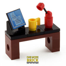 LEGO Desk For Office   With Computer, Mug U0026 Lamp. Work Station Table