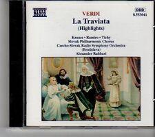 (FH582) Verdi: La Traviata (Highlights) - 1990 CD