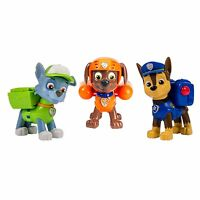 Nickelodeon, Paw Patrol - Action Pack Pups 3pk Figure Set Chase, Rocky, Zuma , N on sale