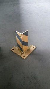 2-x-Anfahrschutz-Rammschutz-f-Palettenregal-Schwerlastregal-31-cm-h-8-mm-stark