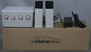 NEW-Tempur-Pedic-TEMPUR-Choice-Mattress-Pump-Assembly-Kit-w-2-Remotes