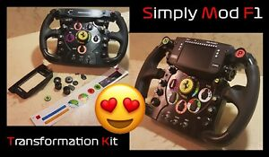 Details about IPhone 4s Transformation Kit Simply Mod for Thrustmaster  Ferrari f1 Wheel Add - on- show original title
