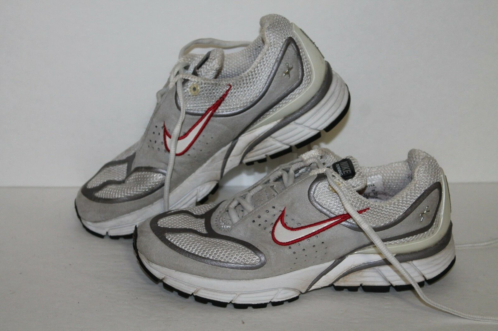 Nike Zoom Womens Plus + Running Shoes, Grey/Red/Slvr, Womens Zoom US Size 6 bf370e