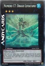 1a EDIZIONE M/NM Numero 17: Drago Leviatano ☻ Ghost ☻ GENF IT039 ☻ YUGIOH