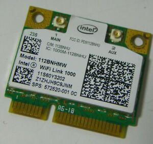 HP-572520-001-Intel-WiFi-Link-1000-112BNHMW-bgn-Half-60Y3202-60Y3203