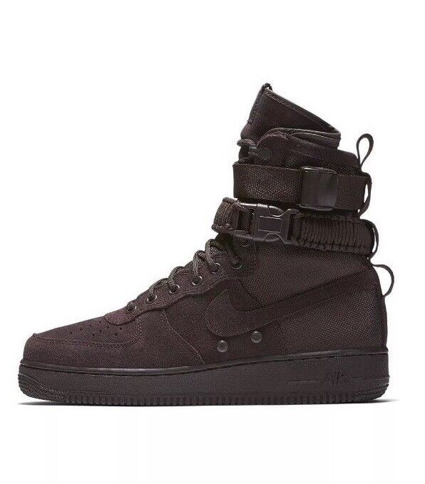Nike SF Special AF-1 Force 1 alta Special SF Field Air Marrón Con Recibo De Terciopelo 6e89e6