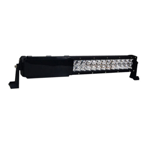 "10PCS 8INCH Black Cover Snap on Daul Row LED Light Bar Offroad 22/"" 32/"" 52/"""